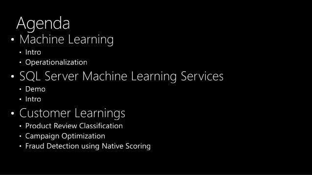 [AI06] Running ML in SQL Serve Slide 3