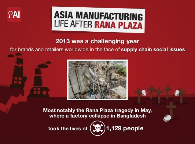 AS IA MANU FACTURIN G LIFE AFTER R ANA PLA ZA 2013 was a challenging year for brands and retailers worldwide in the face o...