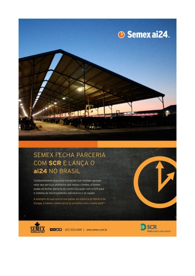 SEMEX-FECHA PARCERIA COM SCR E LANÇA O aí24 NO BRASIL  constantemente buscando inovações que venham agregar valor aos serv...