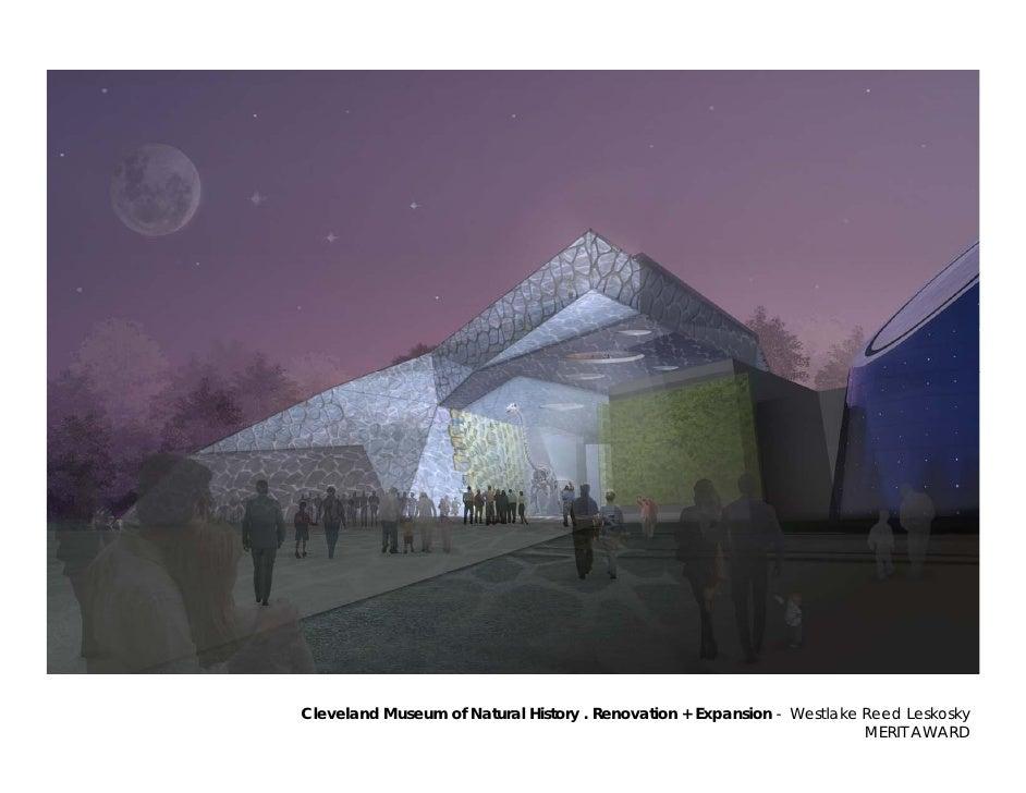 Cleveland Museum of Natural History . Renovation + Expansion - Westlake Reed Leskosky                                     ...
