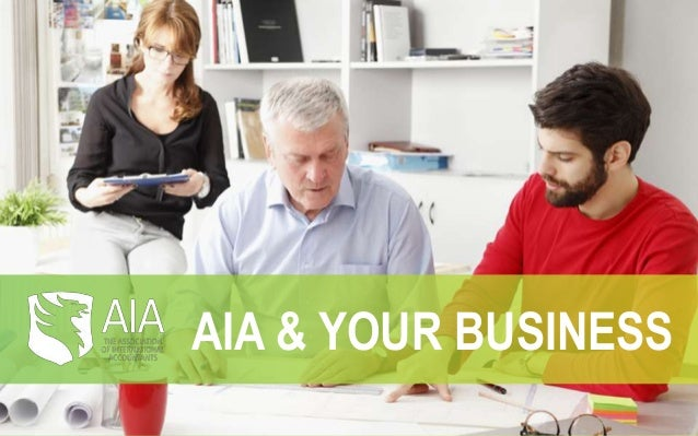 AIA & YOUR BUSINESS