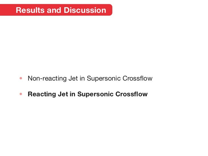 supersonic jet and crossflow interaction computational I have been tasked with developing a computational model for a jet engine test cell  modeling flow from a jet engine  jet in supersonic crossflow,.