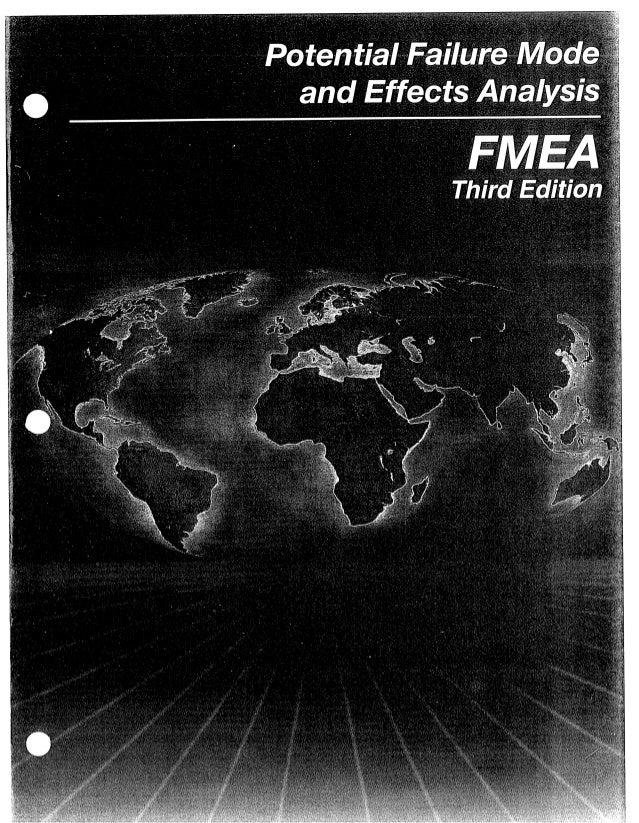 aiag fmea 3rd ed rh slideshare net AIAG SPC Manual AIAG 4th Edition