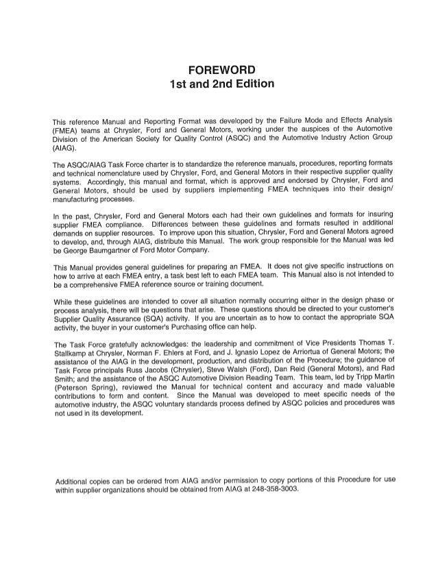 aiag fmea 3rd ed rh slideshare net Instruction Manual Zenith VCR Manuals
