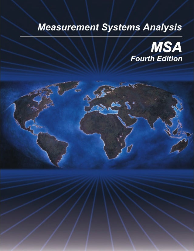 aiag msa 4th ed rh slideshare net aiag msa manual pdf aiag msa manual latest edition pdf