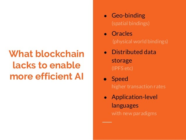 Artificial Intelligence & Blockchain Synergy