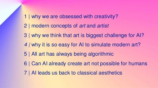 1 | why we are obsessed with creativity? The shift to new economic paradigm in 2000s - / highly competitive, global market...