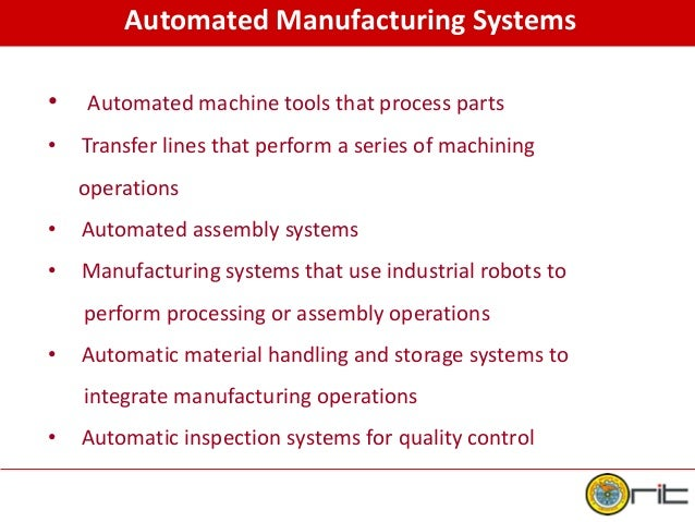 advanced industrial automation and robotics