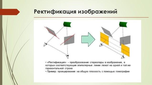 Ректификация изображений