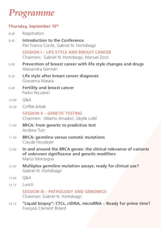 1th Meet the Professor - Sept 10-12, 2015, Padua - with Patronage of Senology Slide 3