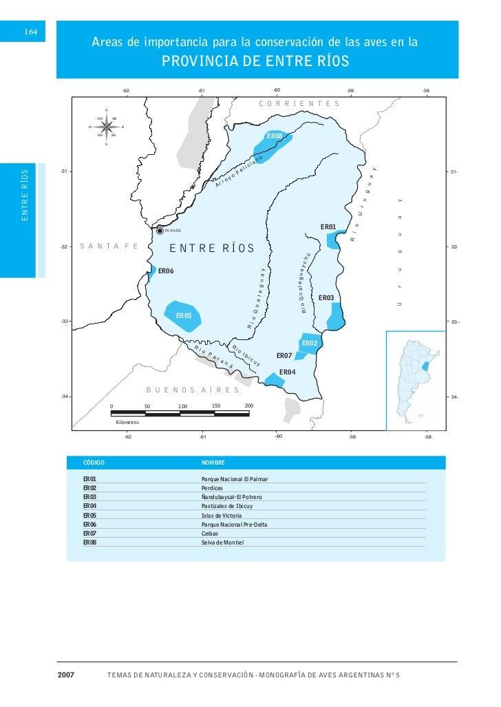164      Áreas importantes para la conservación de las aves de ARGENTINA                          Areas de importancia par...