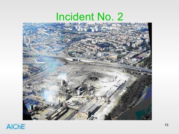 Incident No. 2
