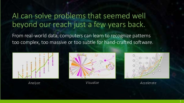 AI can solve problems that seemed well beyond our reach just a few years back. From real-world data, computers can learn t...