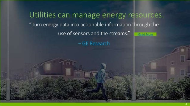 """4 Utilities can manage energy resources. """"Turn energy data into actionable information through the use of sensors and the ..."""