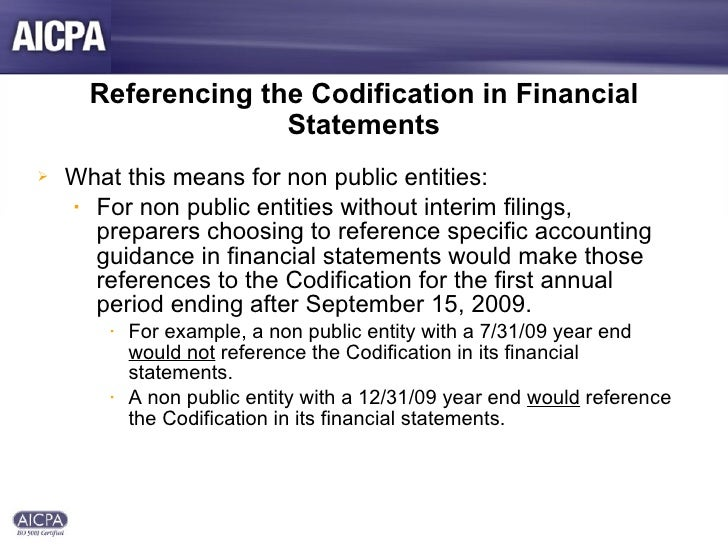 fasb accounting standards codification A fasb accounting standards codification quick reference guide.