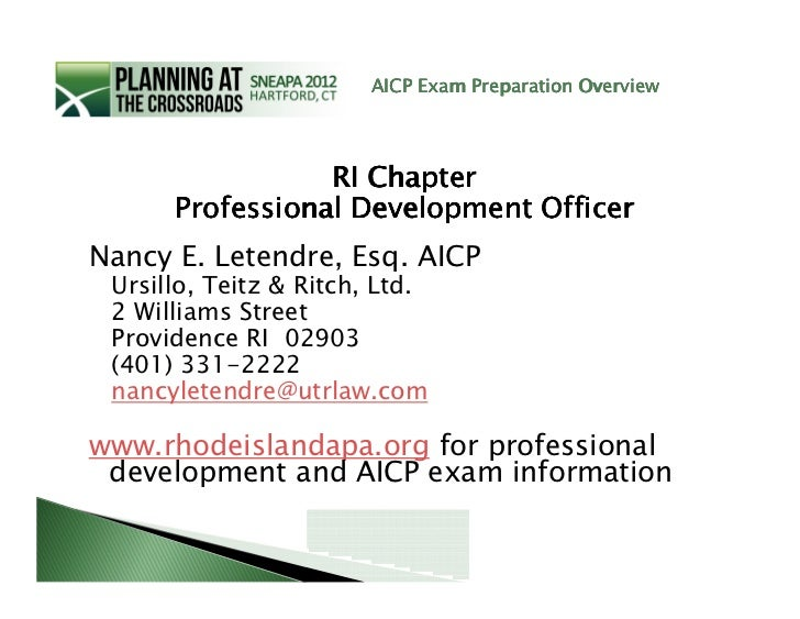 aicp exam prep package 2.0 pdf