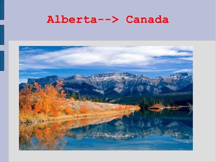Alberta--> Canada
