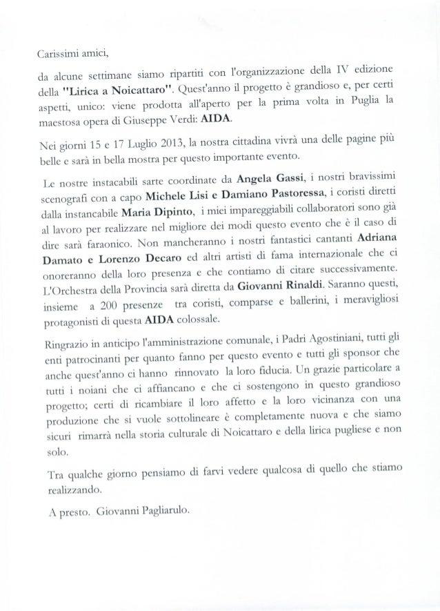 Aida 1comunicato