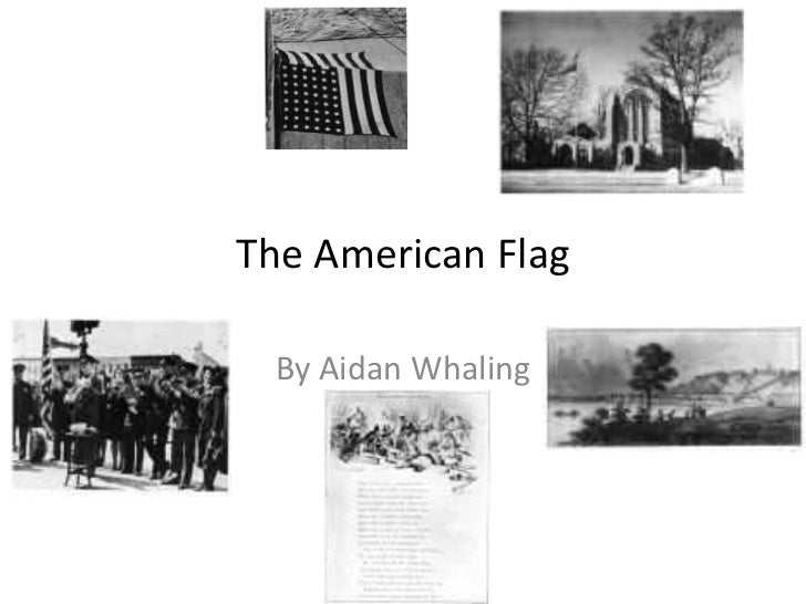The American Flag  By Aidan Whaling