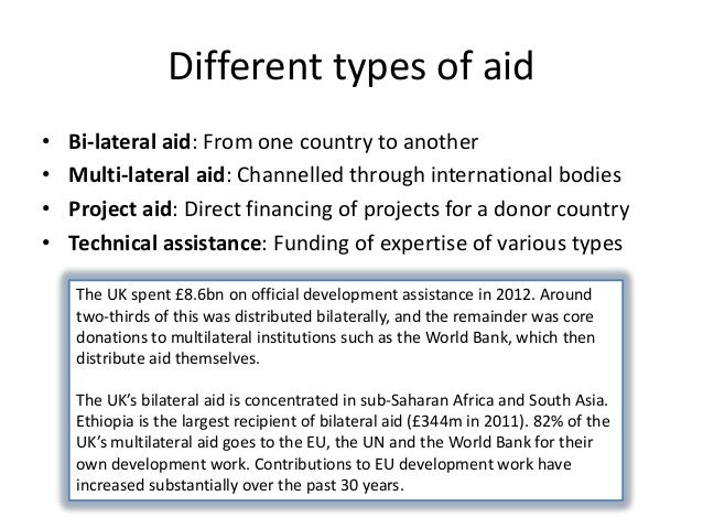 does development aid work Does aid work dambisa moyo says no, paddy ashdown says yes  many believe, as i do, that providing long-term development aid is the moral thing to do yet we .