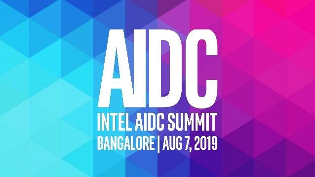 Intelarchitecturefor ArtificialIntelligence Austin Cherian Head - High Performance Computing Business, India austin.cheria...