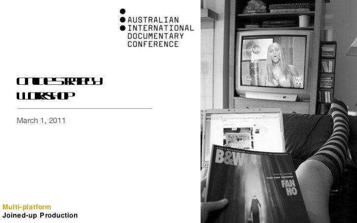 Online Strategy Workshop <ul><li>March 1, 2011 </li></ul>