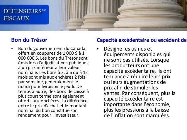 Bon du Trésor •  Bon du gouvernement du Canada offert en coupures de 1 000 $ à 1 000 000 $. Les bons du Trésor sont émis l...