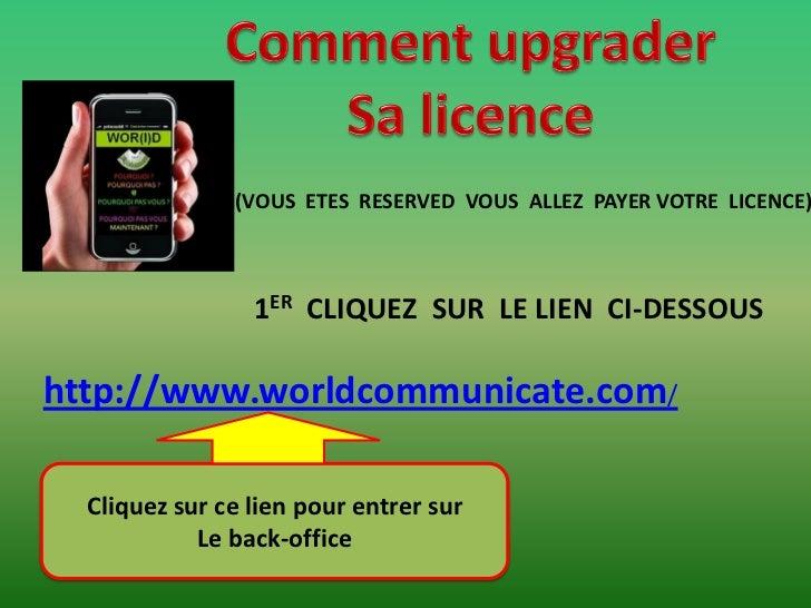 (VOUS ETES RESERVED VOUS ALLEZ PAYER VOTRE LICENCE)                 1ER CLIQUEZ SUR LE LIEN CI-DESSOUShttp://www.worldcomm...