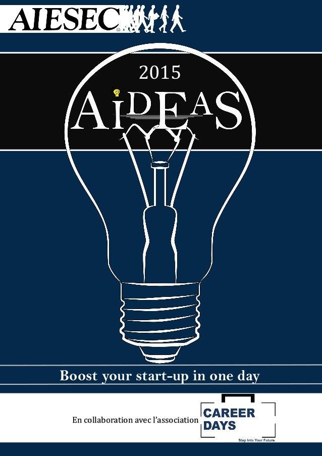 2015 Boost your start-up in one day En collaboration avec l'association