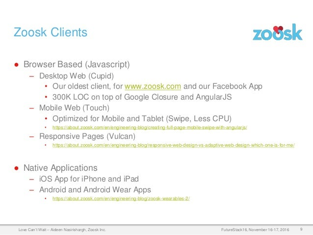 Love Can't Wait! Optimizing PageLoad Time of SPAs at Zoosk