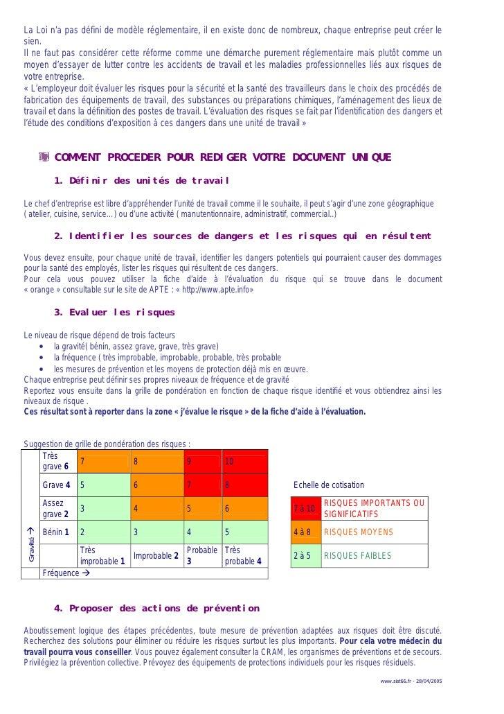 Aide evrp - Grille d evaluation des risques ...