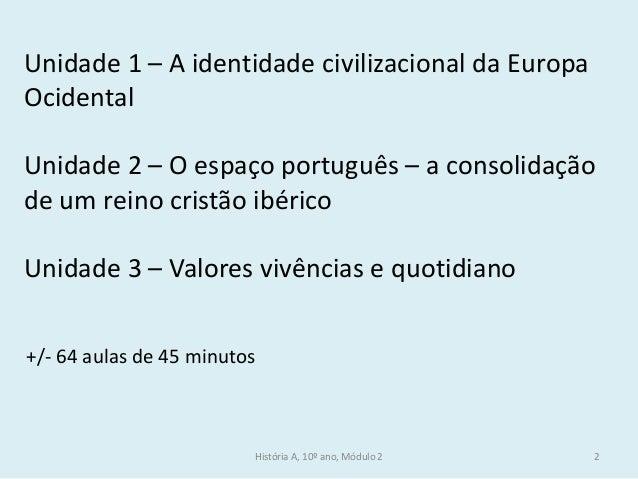 A identidade civilizacional da europa ocidental Slide 2