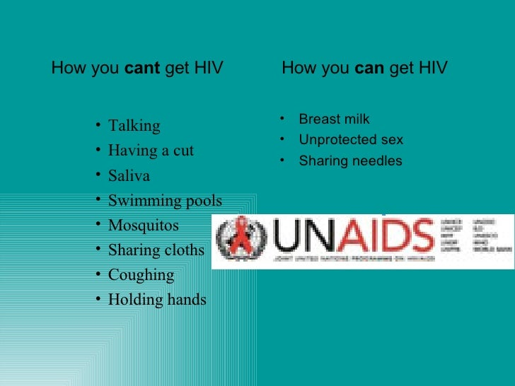 Aids for Can you get hiv from a swimming pool