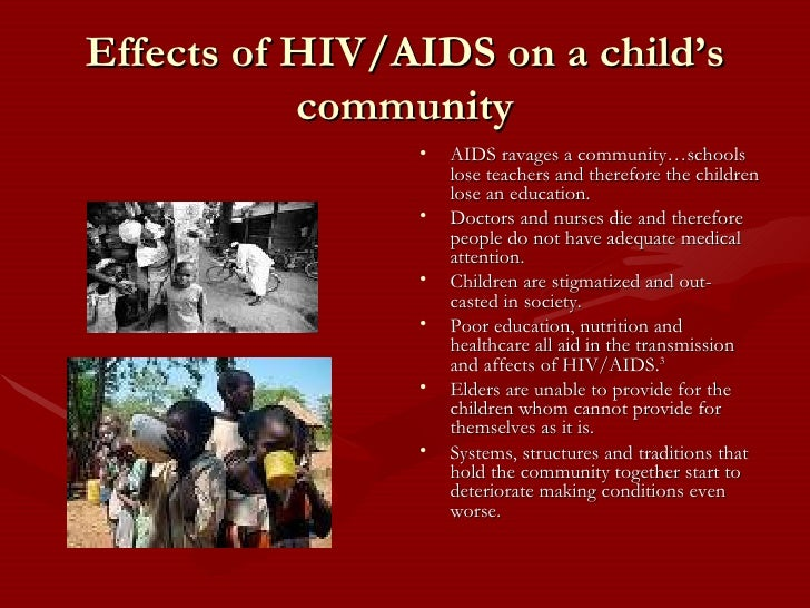 Aids And Child Nutrition In Africa