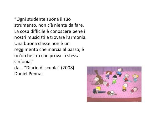 """""""Ogni studente suona il suo strumento, non c'è niente da fare. La cosa difficile è conoscere bene i nostri musicisti e tro..."""