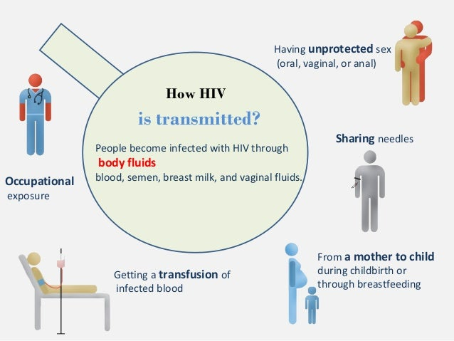 Risk of hiv infection from oral sex