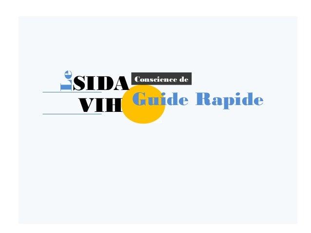 dd Guide Rapide SIDA VIH Conscience de Le