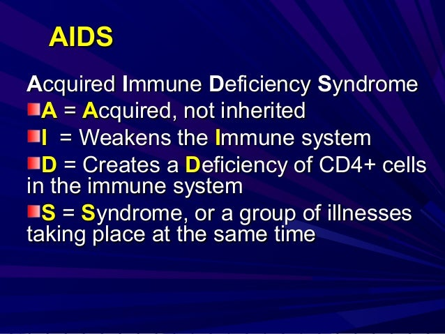 Aids  issues Slide 3