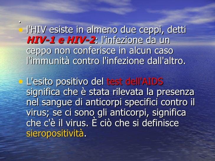 Aids laurea breve - Test hiv periodo finestra ...