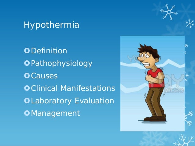 hypothermia in an hiv