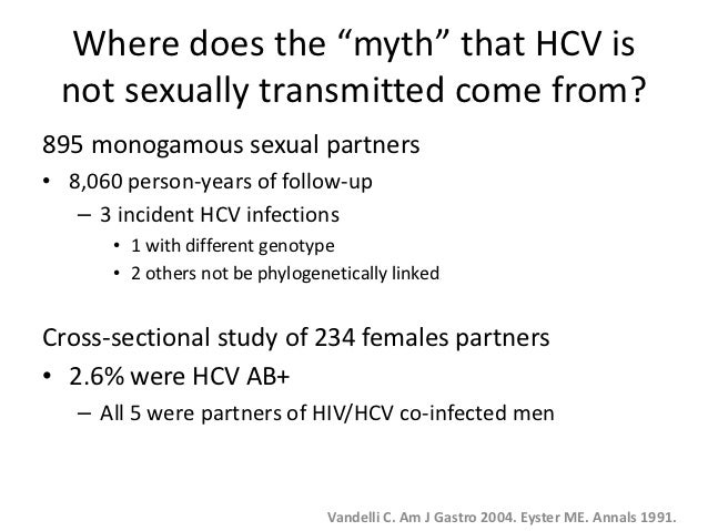 Non sexually transmitted hiv