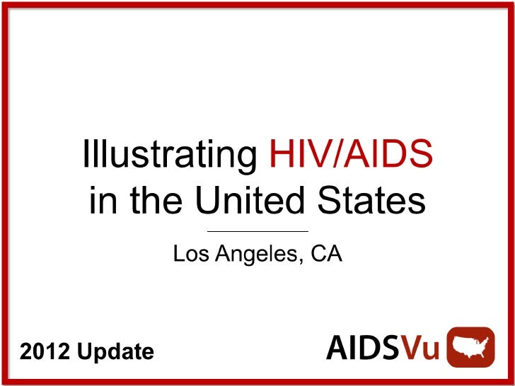 Illustrating HIV/AIDS in Los Angeles County