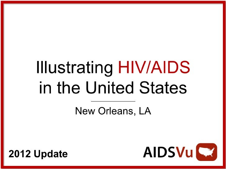 Illustrating HIV/AIDS in New Orleans