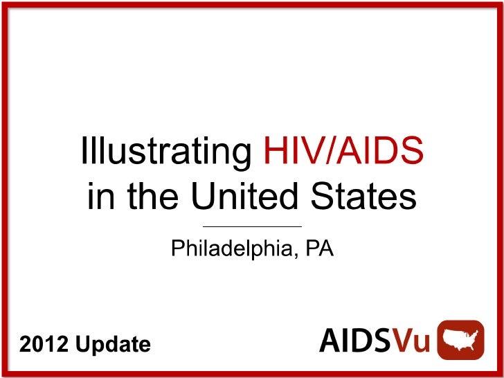 Illustrating HIV/AIDS in Philadelphia
