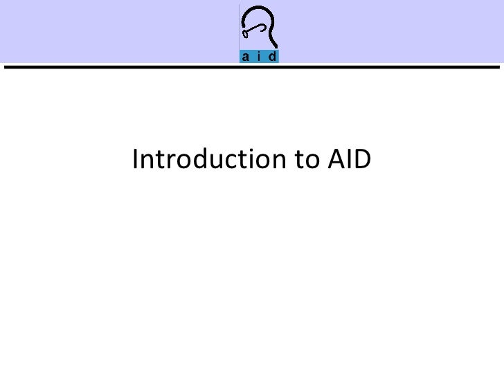 Introduction to AID
