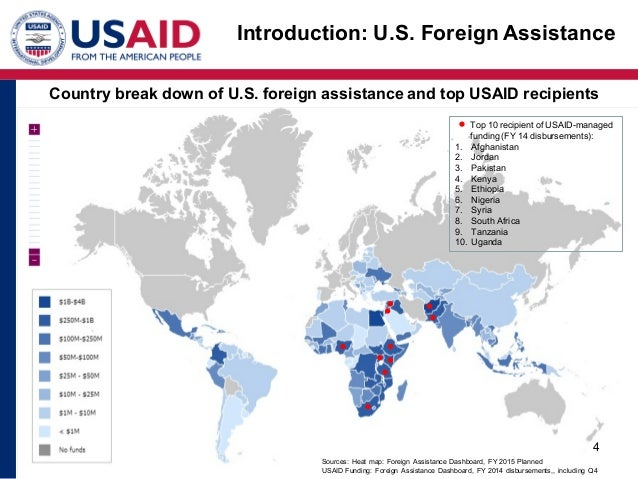 Aid Transparency Jeremiahcarewen - Us foreign aid map
