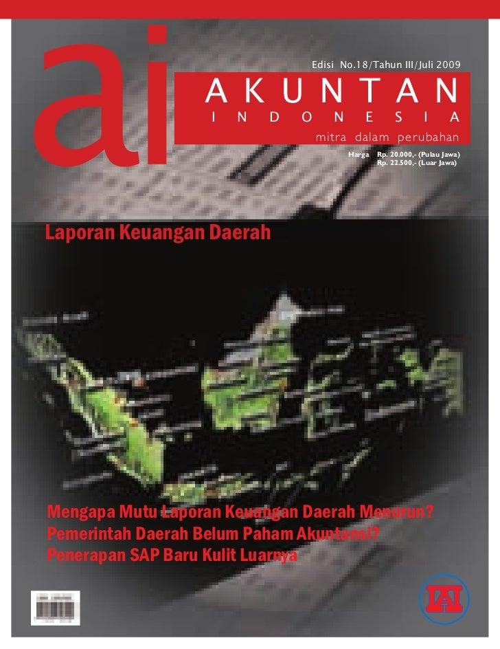 Edisi No.18/Tahun III/Juli 2009                  a k u n t a n                   i   n   d   o      n   e    s   i   a    ...