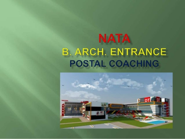 Use the following link to watch the video on YouTube regarding JEE-B.ARCH. Exams. VIDEO LINK http://goo.gl/pgJ7UF