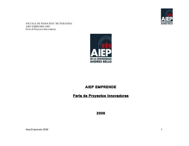 aiep emprende 2009