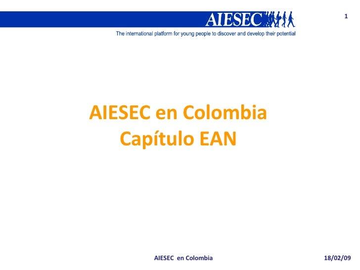 AIESEC en Colombia Capítulo EAN